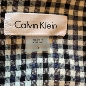 Calvin Klein Dresses - Calvin Klein gingham dress